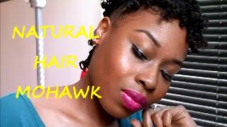 Natural Hair: Mohawk Thumbnail
