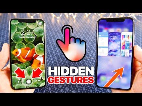 Download Youtube: iPhone X Hidden Gestures + Tips & Tricks!