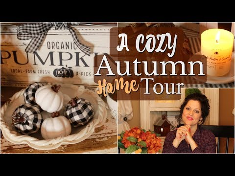 COZY FALL HOME TOUR 2019! FALL DECORATING & DECOR IDEAS FOR YOUR HEARTH & HOME🧡