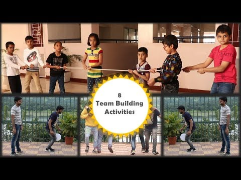 8 Team Building Activities | 8 Team Building Games | Outdoor Games | Indoor Games