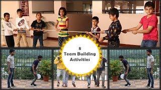 8 Team building activities | 8 Team building games | Outdoor...