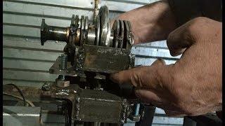 простой и дешевый станок для усиления профильной трубы