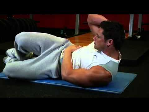 Abdominals Oblique Crunches On The Floor Exercises Guide Live