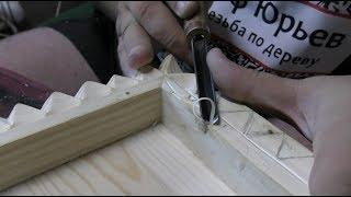 Резьба по сосне, видео, инструмент для резьбы по дереву