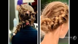 смотреть плетение волос_плетение на короткие волосы фото