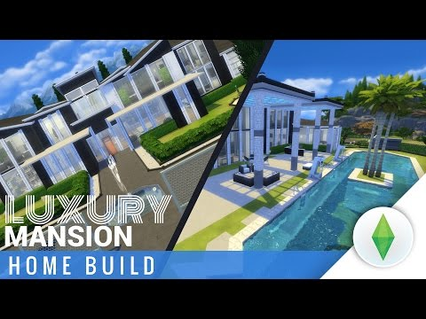 The Sims 4 Home Build - Luxury Mansion