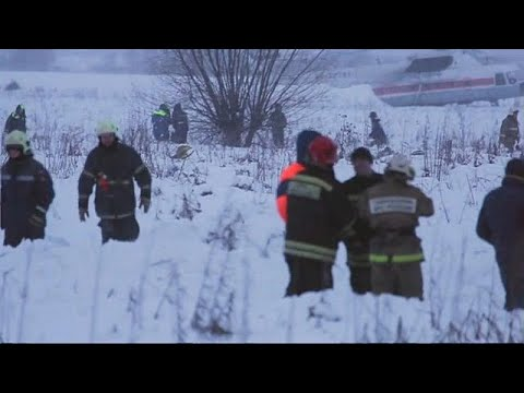 Cause of fatal plane crash near Moscow still unknown
