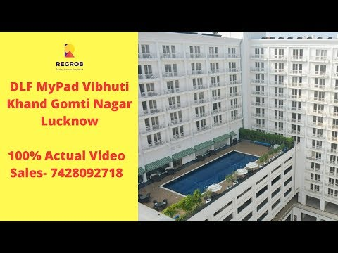 DLF MyPad Vibhuti Khand Gomti Nagar Lucknow |☎️7428092718 | Studio Apartment /Office Space For Sale