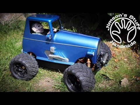 I Build a Crazy Custom RC Car - DHK Zombie conversion