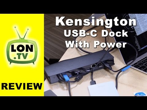 Kensington USB-C Universal Dock with Power Delivery Review - SD4600P