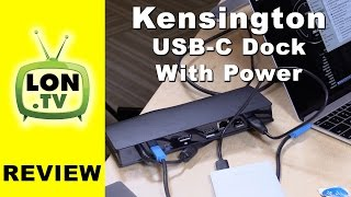 kensington usb c universal dock with power delivery review sd4600p