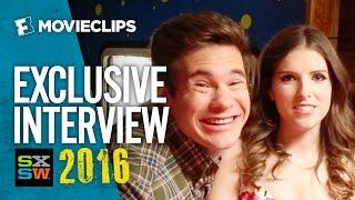 Anna Kendrick and Adam DeVine Climb Aboard the RVIP Lounge - Exclusive SXSW Interview (2016) HD