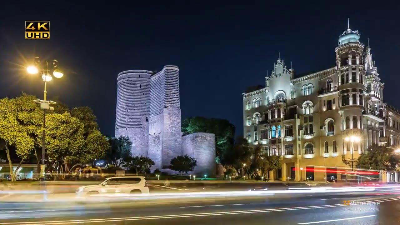 Baku, The Capital Of Azerbaijan! (time Lapse) Youtube