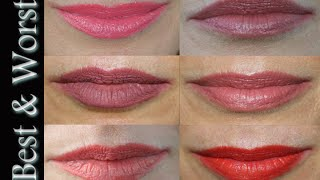 Best & Worst ~ Lipstick Testing for Mature Lips Thumbnail