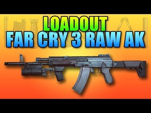 Battlefield 4 Loadout Far Cry 3 Jason Brody AK-12 + Grenade Launcher