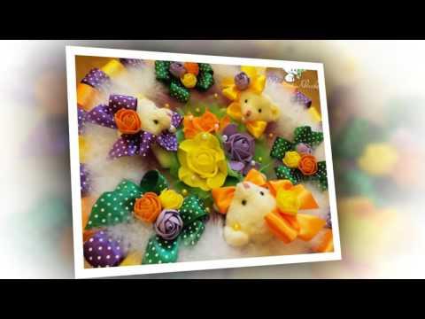 Видео Букет из мягких игрушек