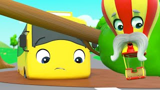 Buster & Daddy Fly A Kite - Stuck In the Mud | Go Buster | Kids Cartoons | Go Buster and Friends