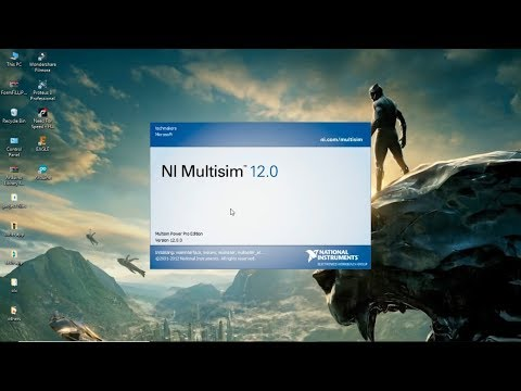 HOW TO DOWNLOAD & INSTALL MULTISIM 12.0 SOFTWARE || National Instruments Software ||