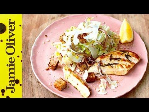 Healthy Chicken Caesar Salad   Jamie Oliver