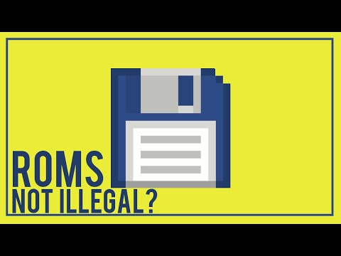 Why NOT All ROMS Are ILLEGAL (Legal ROM Playing Options)