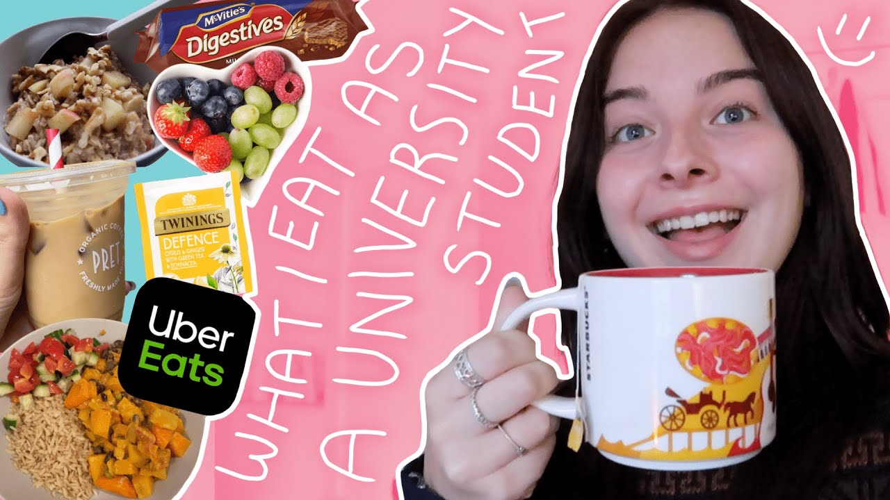 realistic what i eat in a few days as a university student! 🍽️🧑🍳❤️