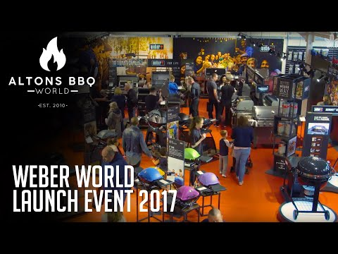 Alton Garden Centre's Weber World || Launch Event 2017