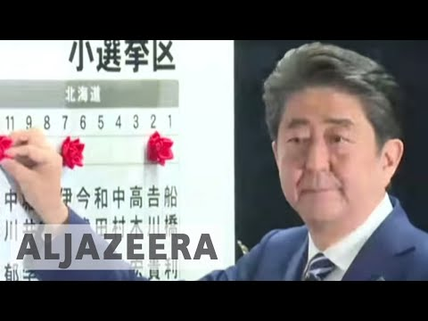 Japan's PM Shinzo Abe poised to win snap election