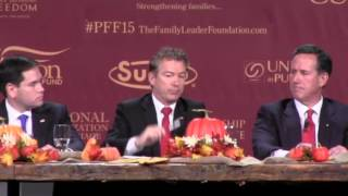 Rand Paul: When Do You Go To War? | Presidential Family Forum