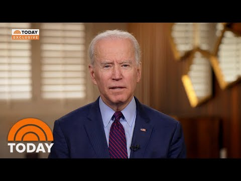 Joe Biden: President Trump 'Does Not Want To Face Me Because I Will Beat Him' | TODAY