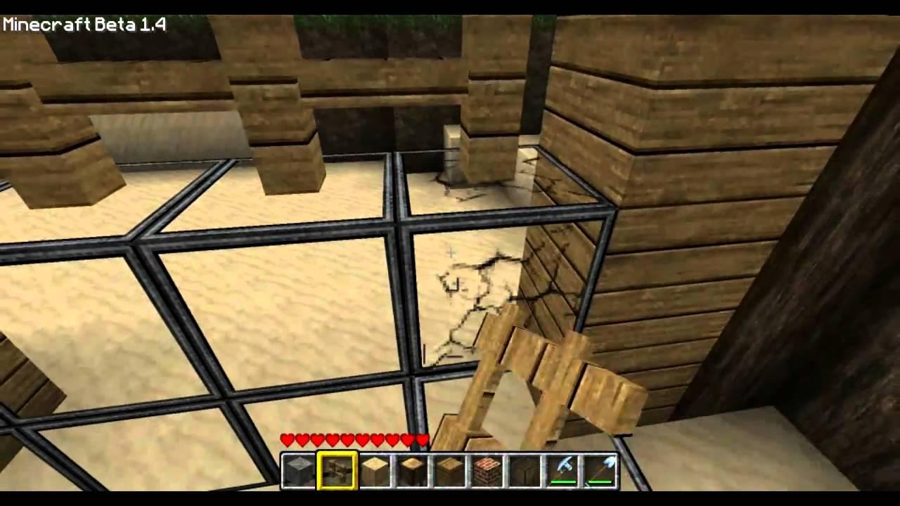 minecraft tutorial haus bauen 1 holzf llerh tte doovi. Black Bedroom Furniture Sets. Home Design Ideas