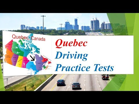 Quebec Driving Practice Tests (124 Questions and Answers)