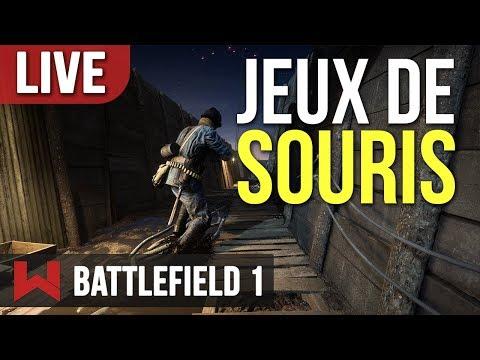 🔴 LIVE : CHAT ET SOURIS | Battlefield 1