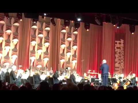 John Williams conducting Indiana Jones at Gala for Ambassadors for Humanity