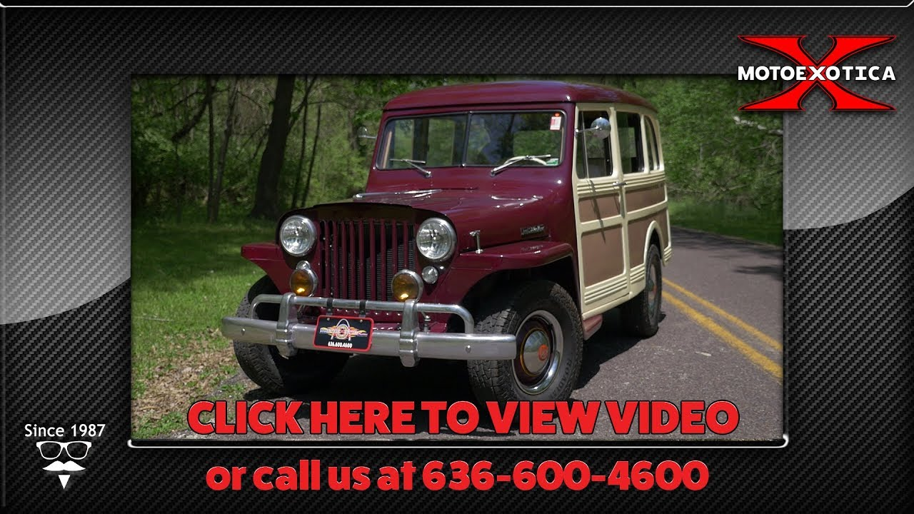 1947 Willys Jeep Station Wagon Sold Youtube 1960 For Sale Used