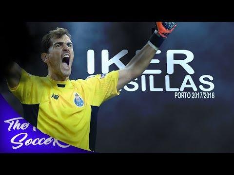 Iker Casillas ● 2017/2018 ● PORTO ● Best Saves    HD