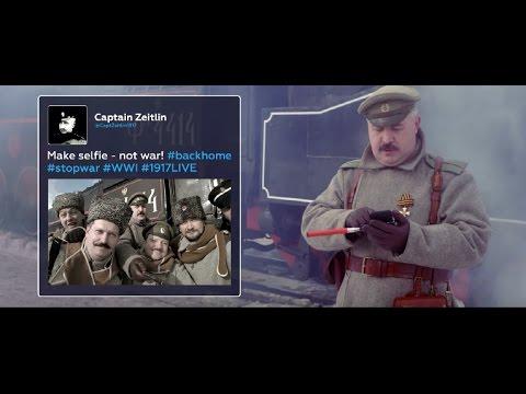 Retweet the Revolution: Make selfie - not war! (#1917LIVE PROMO)