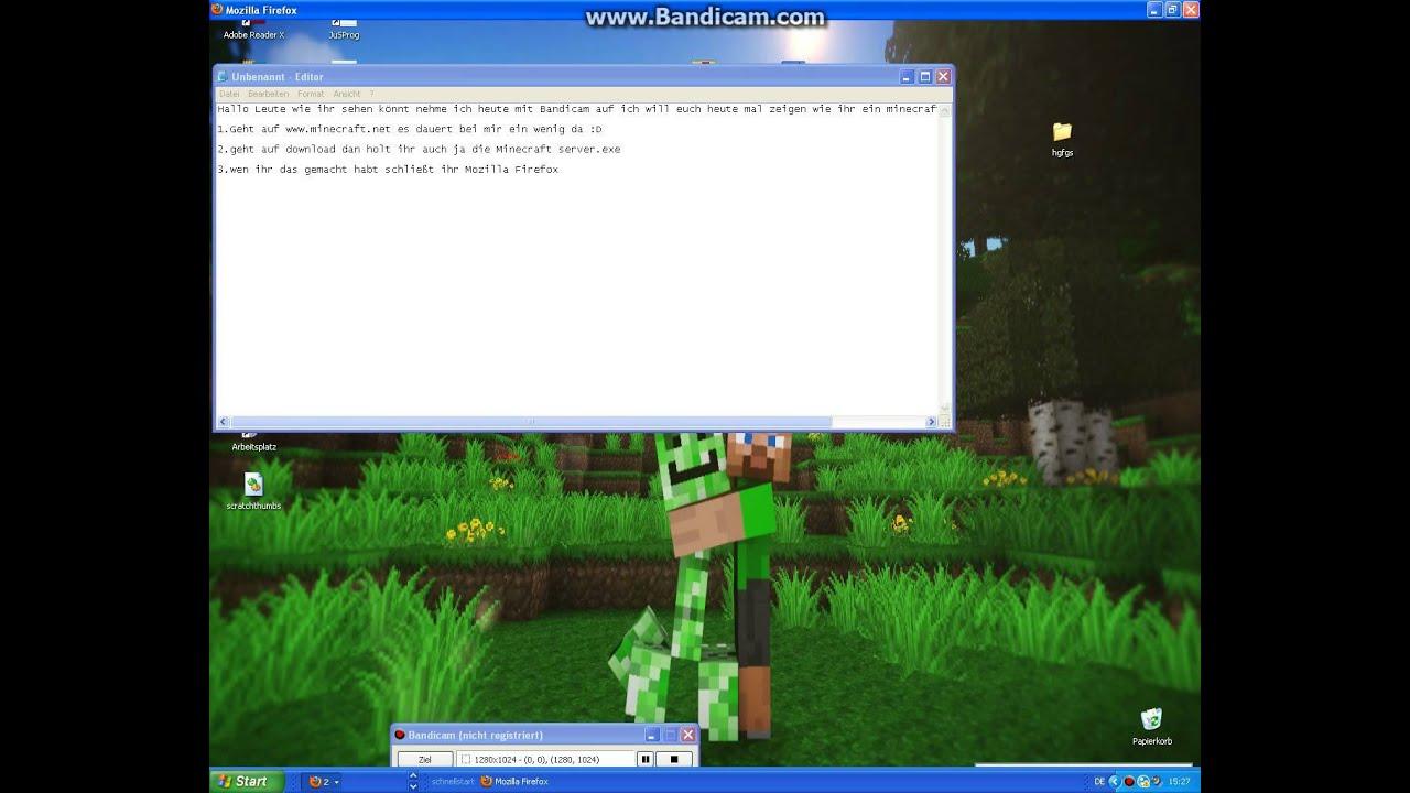 Minecraft Server Erstellen Wo Freunde Joinen Können Part - Minecraft server erstellen mit freunden