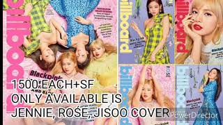 BLACKPINK BILLBOARD MAGAZINE FOR SALE