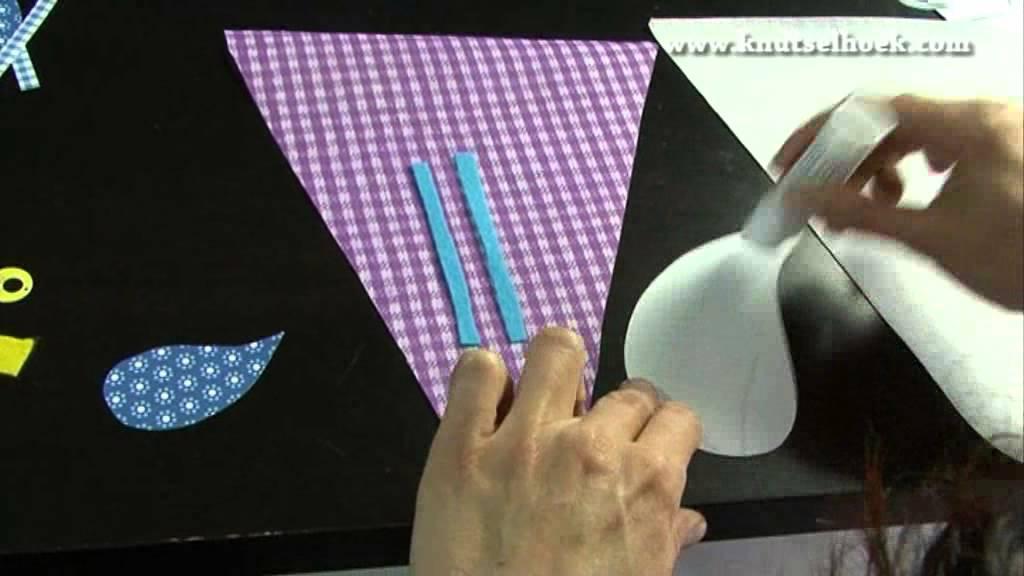 Maak zelf een origineel cadeau met vlaggetjes youtube for Kleine vijverfilter zelf maken