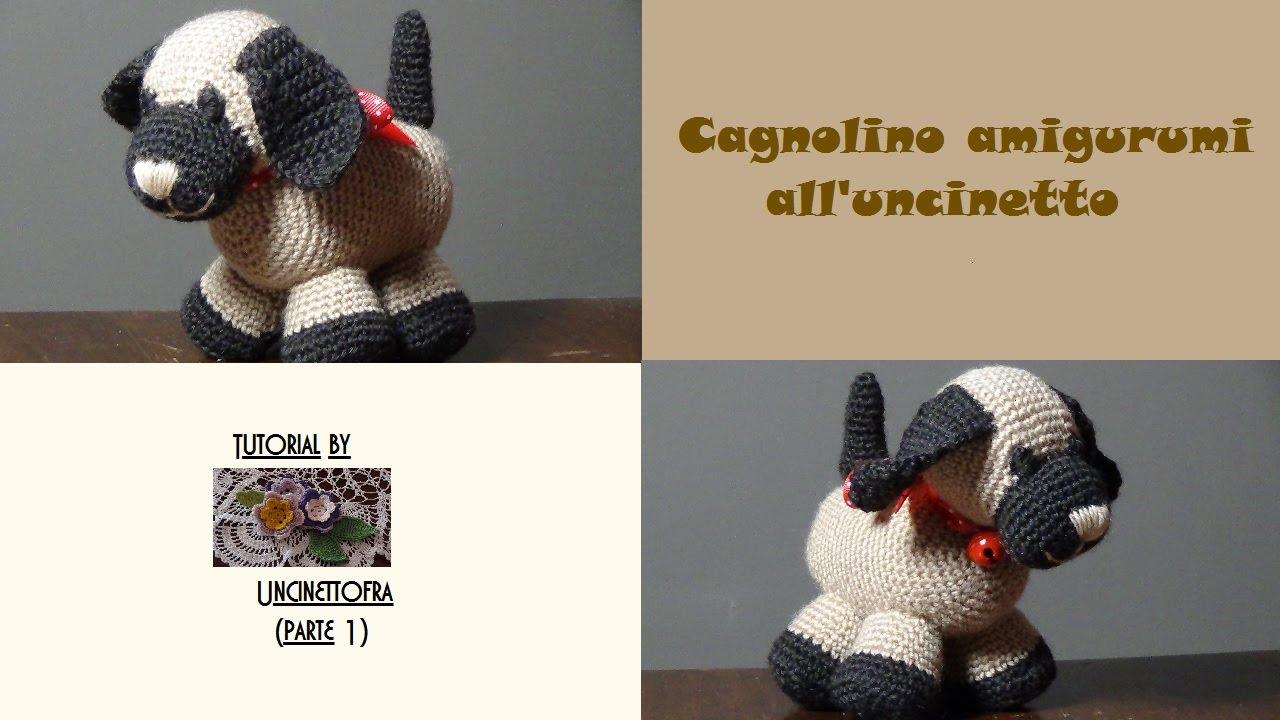 Amigurumi Uncinetto Tutorial Italiano : Cagnolino amigurumi all uncinetto tutorial parte youtube