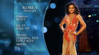 Miss Universe 2007 - 3rd Runner up l Honey Lee
