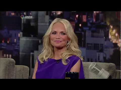 Kristin Chenoweth on Letterman July 13, 2010 part 1 of 2