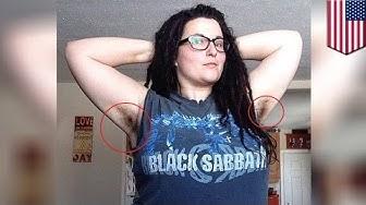 Wanita yang menunjukkan bulu ketiak menjadi terkenal di instagram - TomoNews