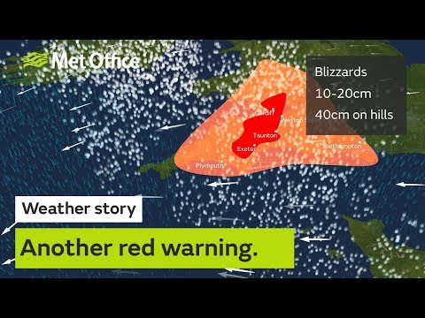 Another red warning has been issued