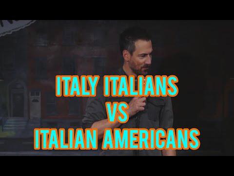 Italy Italians Vs American Italians