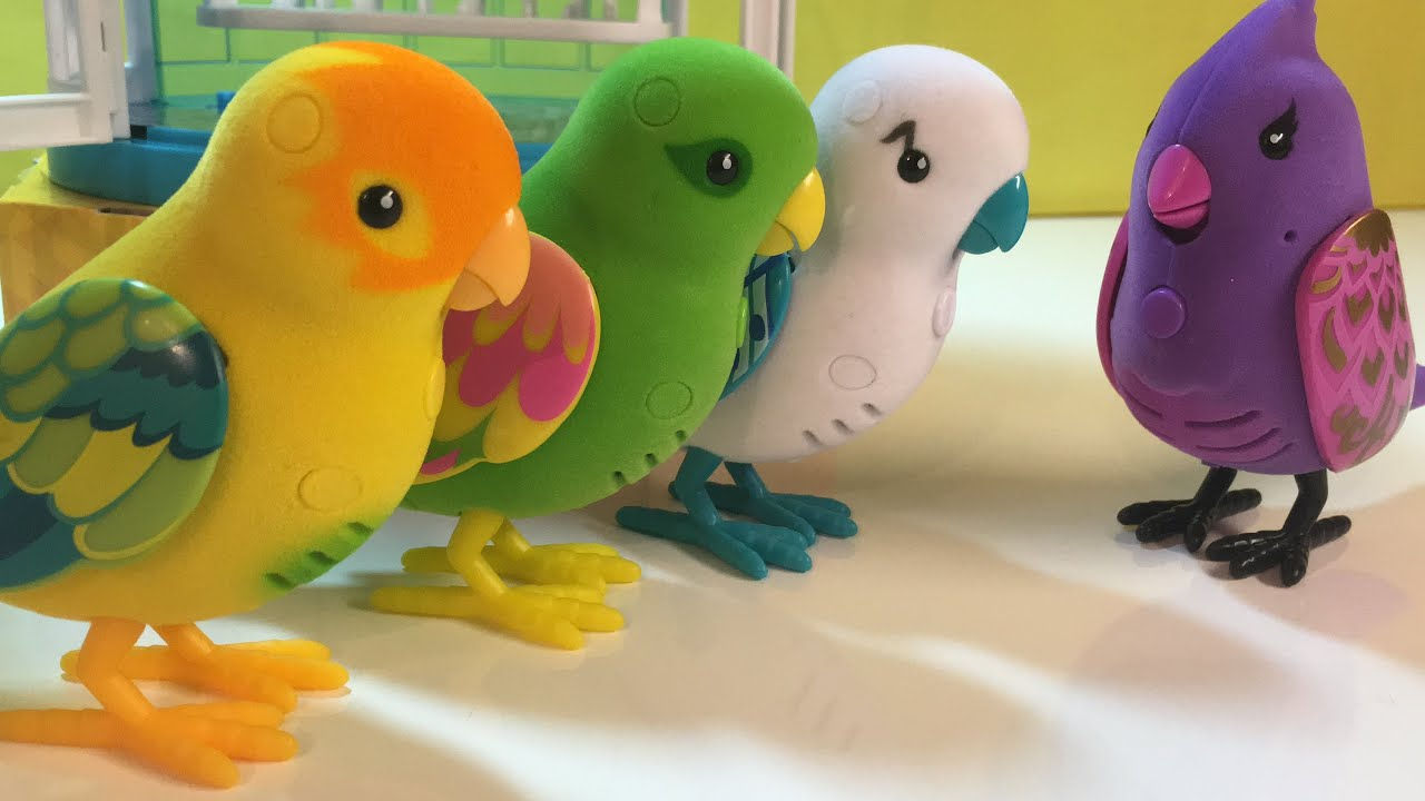 Toys For Birds : Little live pets talking singing dancing toy birds