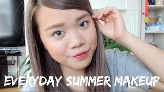Quick and Easy Summer Makeup for Oily Skin