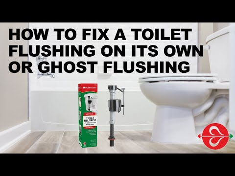 How To Fix A Toilet Flushing On Its Own Or Ghost You