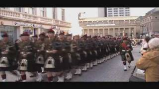 Black watch March past Dundee