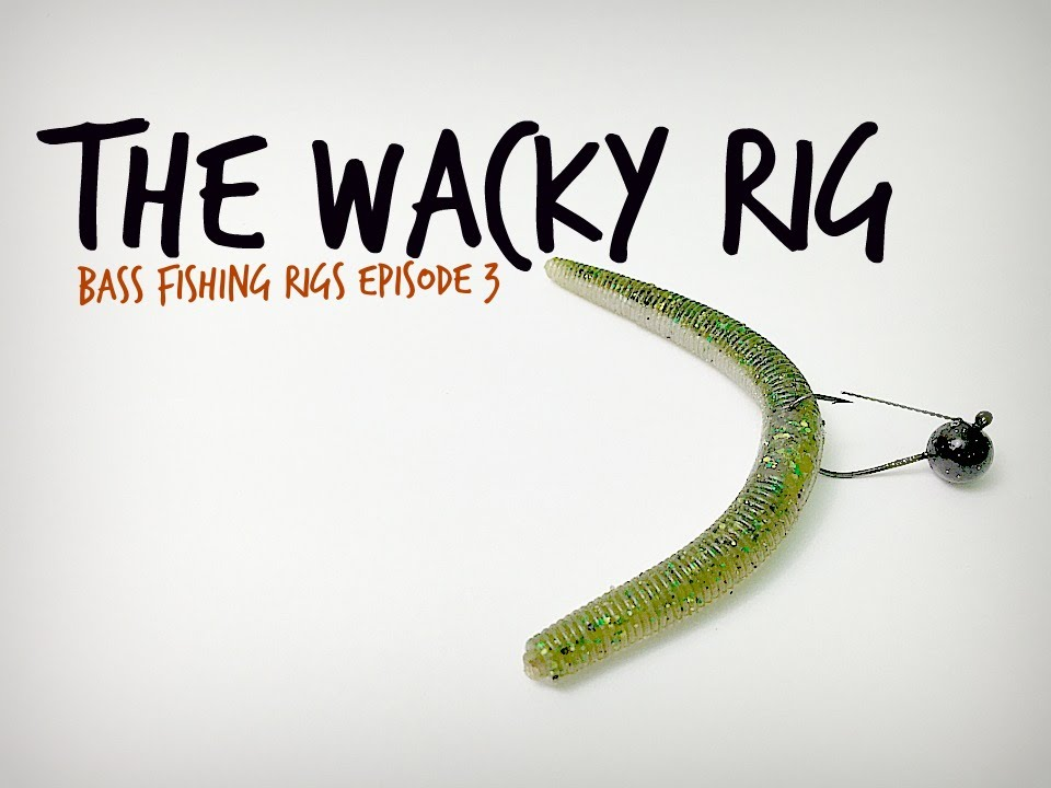 The wacky rig bass fishing rigs series youtube for Bass fishing rig